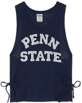 PINK Penn State University Crop Muscle Tank