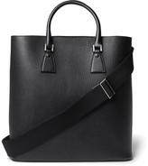 Maison Margiela Full-Grain Leather Tote Bag