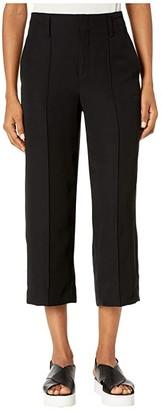 Vince Straight Leg Crop (Black) Women's Casual Pants
