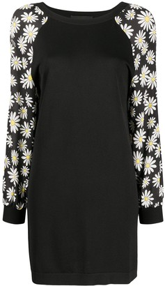 Boutique Moschino Daisy-Print Panelled Dress