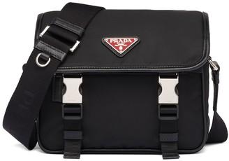 Prada Nylon and Saffiano leather shoulder bag