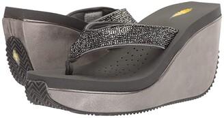 Volatile Erie (Dark Grey) Women's Wedge Shoes
