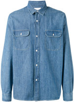 Our Legacy chest pockets denim shirt