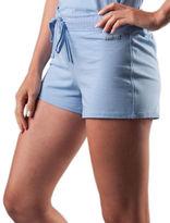 Naked Gauze-Trim Stretch Cotton Pajama Pants