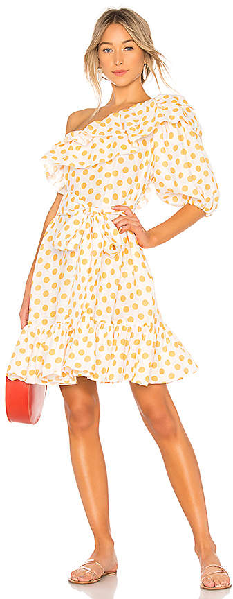Lisa Marie Fernandez Arden Linen Mini Dress