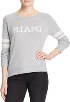 Aqua Cashmere Miami Crewneck Cashmere Sweater