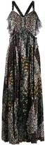 Etro flared printed maxi dress