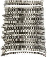 Multi Tone Box Chain Bracelet
