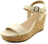 Alfani Pyper Women US 8.5 Nude Wedge Sandal