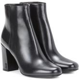 Saint Laurent Babies 90 Leather Ankle Boots