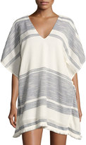 Red Carter Rosa Caftan Coverup Top, Multipattern