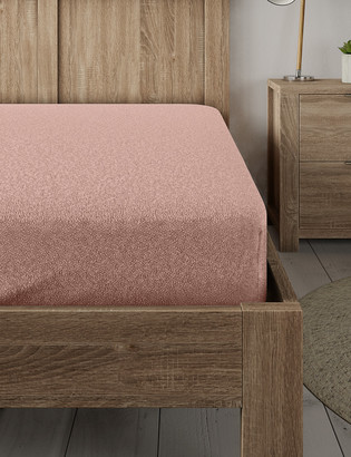 Marks and Spencer Teddy Fleece Fitted Sheet