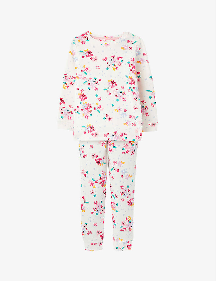 Autumn Lovely Print Long Sleeve Clothing Set Cotton Unisex Light Color Sleepwear Outfits Snug-Fit Trousers Meiju Baby Animal Pajamas for Boys Girls
