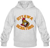 Enlove Ottawa Senators Thin Casual Hoodies For Men Size M