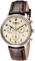 Zeppelin Hindenburg Quartz Men's Chronograph Watch 7086-4