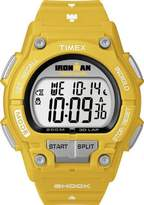 Timex Men's Ironman T5K430 Yellow Resin Quartz Watch with Dial