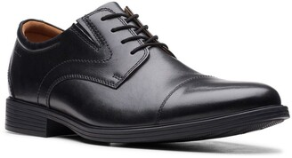 Clarks Whiddon Cap Toe Oxford - Wide Width Available