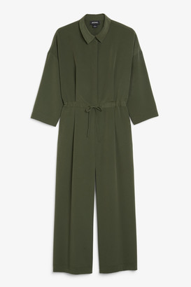 Monki Long-sleeve jumpsuit