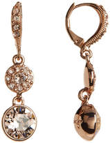 Givenchy Pave Swarovski Crystal Drop Earrings