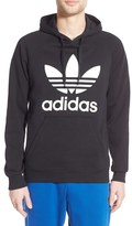 adidas 'Trefoil' Graphic Hoodie