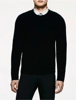 Calvin Klein Platinum Boiled Cashmere Crewneck Sweater