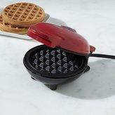 Crate & Barrel Dash ® Red Mini Waffle Maker