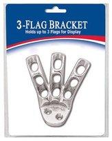 ANNIN FLAGMAKERS 3-Flag Display Bracket