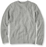 L.L. Bean Cashmere Sweater, Crewneck Cable Knit