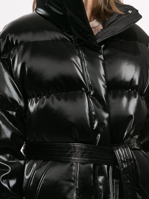 GOEN.J Oversized Glossed Down Jacket