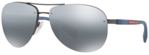 Prada Linea Rossa Polarized Sunglasses, Ps 56MS
