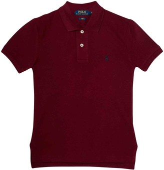 Ralph Lauren Burgundy Polo Shirt