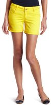 Southpole Juniors Basic Solid Color Bermuda Short With Free Sunglasses