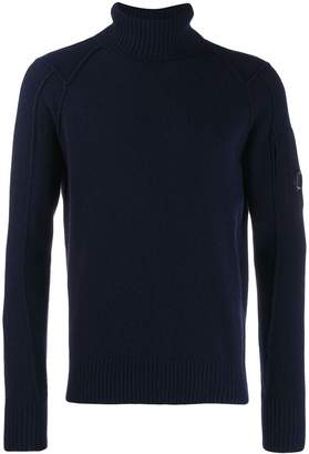 C.P. Company roll neck jumper