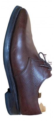 John Lobb Brown Leather Lace ups