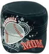 Pit Bull Women's Baseball Mom Embroidery Bling Cadet Hat Cap