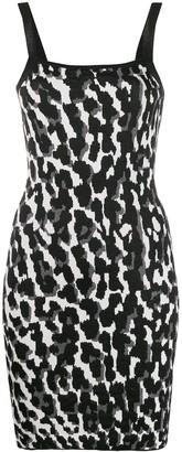 Just Cavalli animal-print mini slip dress