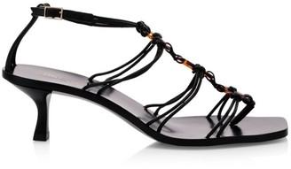 Cult Gaia Ziba Braided Thong Sandals