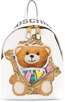 Moschino Frame Teddy Bear backpack