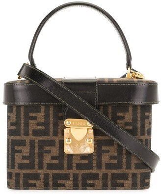 Fendi Pre-Owned Zucca pattern 2way bag