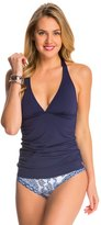 Tommy Bahama Pearl Solids Long Halter Tankini Top 8140883
