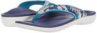 Spenco Yumi Tropical (Navy) Women's Sandals