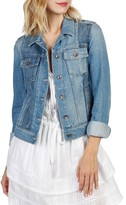 Paige Women's Rowan Pieced Denim Jacket