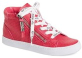 Dolce Vita Girl's Zona High Top Sneaker
