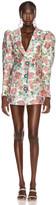 Rotate ROTATE Carol Floral Mini Dress in Morning Glory | FWRD