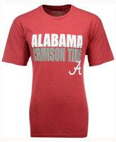 Colosseum Men's Alabama Crimson Tide Wordmark Stack T-Shirt