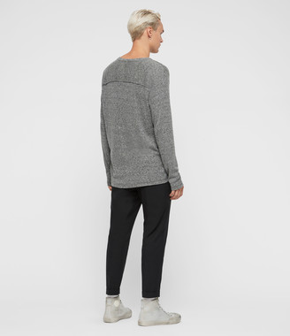 AllSaints Falcon Long Sleeve Crew T-Shirt