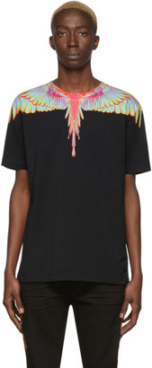 Marcelo Burlon County of Milan Black Fluo Wings T-Shirt