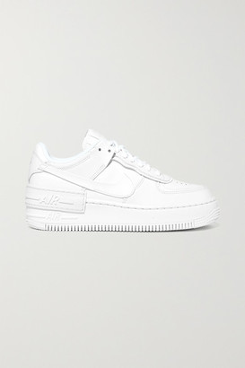 Nike Air Force 1 Shadow Leather Sneakers - White