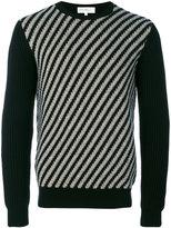 Salvatore Ferragamo striped jumper - men - Cashmere/Wool - M