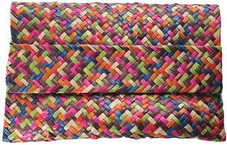 Iara Palm Clutch - Multicolour